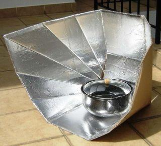 cocina solar portatil funpanel