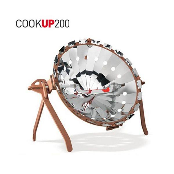 Comprar cocina solar parab lica port til cookup 200 for Planos para cocina solar parabolica