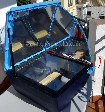 horno solar sun cook abertura maxima
