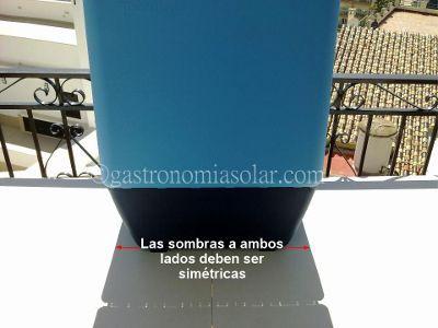 horno solar sun cook tropical orientacion