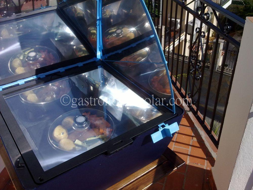 programar el encendido del horno solar Sun Cook Premium