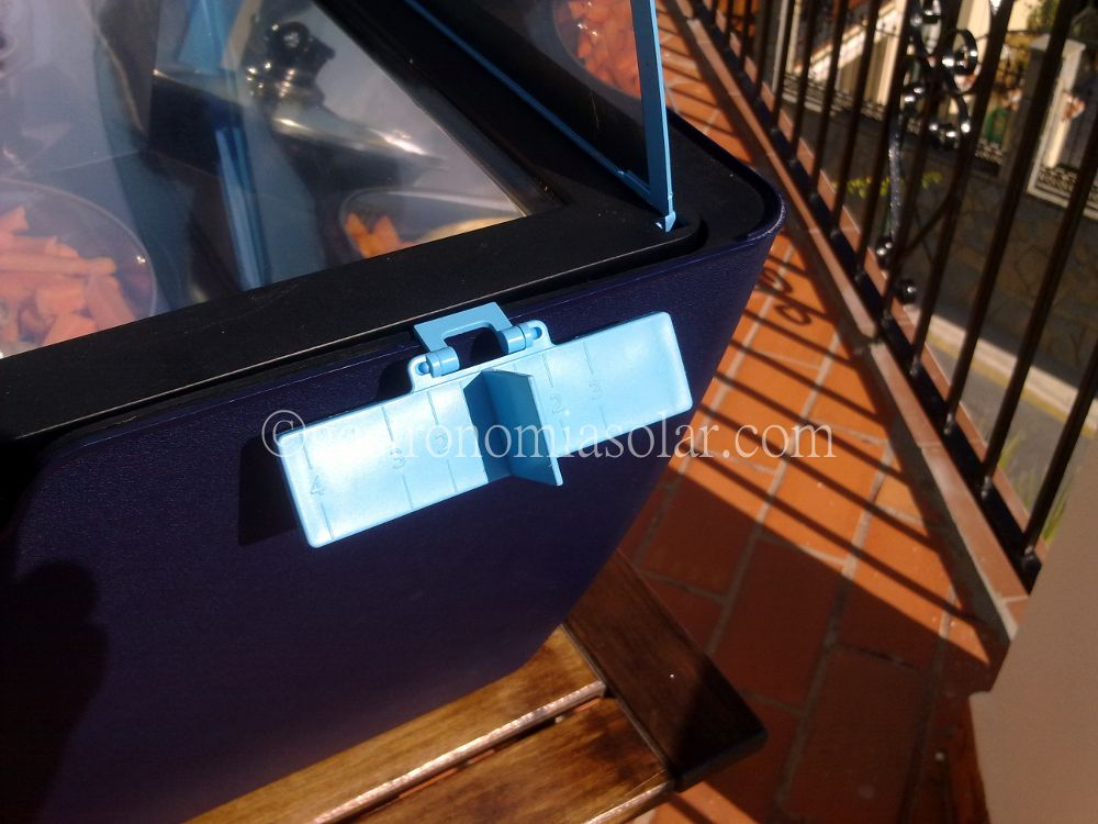 reloj horno solar programado